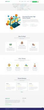 Laravel website development