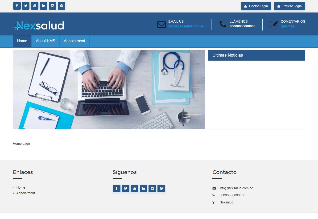 DMS Website new module