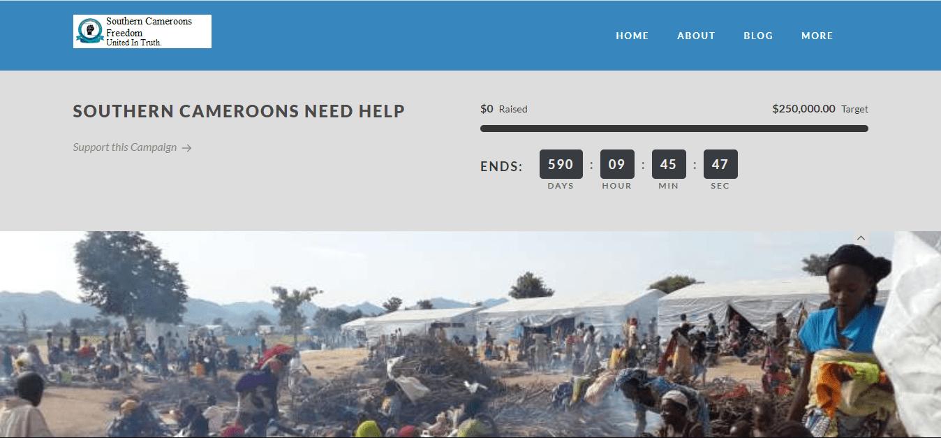 Charity website customization